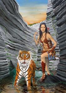 »Die Amazone» Bestell-Nr.: P-01