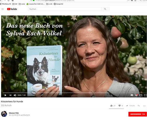 Video-Trailer zum Buch »Kräutertees für Hunde«